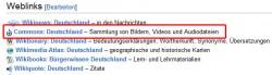 Wikipedia Commons Bilder downloaden