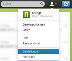 Twitter Einstellungen für Online-Redakteure ändern