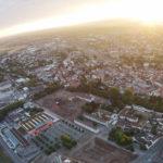 Offenburger Sonnenaufgang - Luftbild