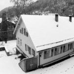 Schwarz-Weiß: Hirsauer Grundschule