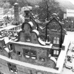 Schwarz-Weiß: Jagdschloss in Hirsau