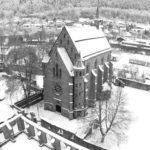 Schwarz-Weiß: Kloster Hirsau - Marienkapelle