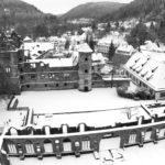 Schwarz-Weiß: Kloster Hirsau