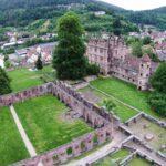Calw Hirsau Luftfotografie - Klosterruine