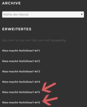 SEO Nofollow-Test im Footer von nextlevelseo.de