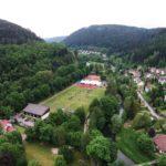 Calw Hirsau Luftfotografie - Sportplatz