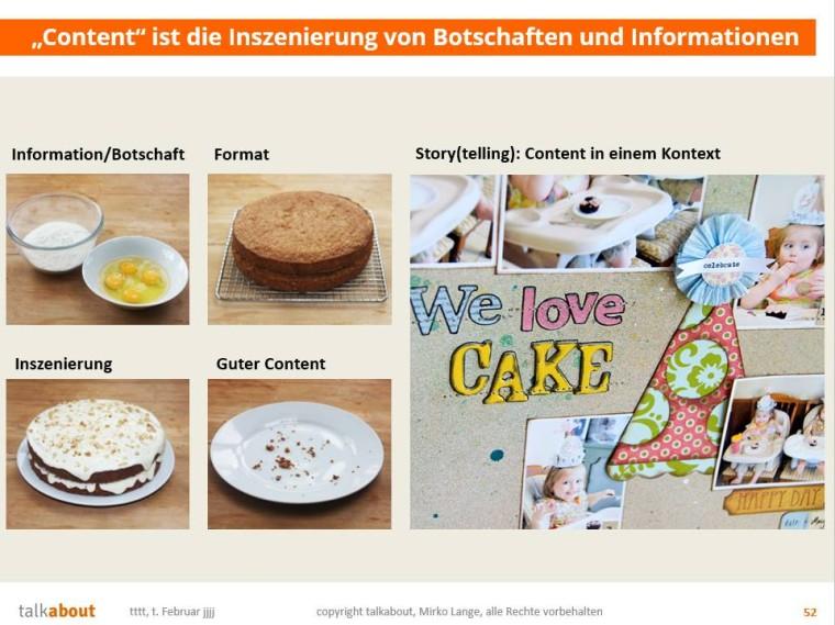 Content-Kuchen backen: Bild von Mirko Lange
